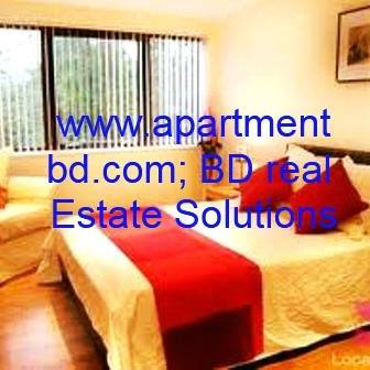 2400sft Fully furnished apt. Gulshan For Residential